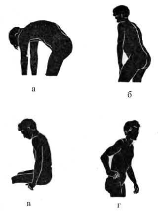 Функциональные нарушения при поражении позвоночника у взрослых