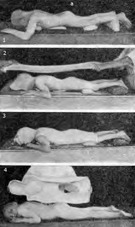 a — этапы изготовления гипсовой кроватки