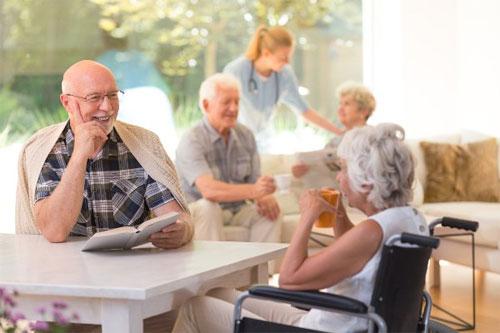 Здоровый взгляд на дом престарелых