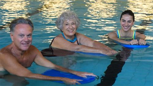 Посещение бассейна в пожилом возрасте
