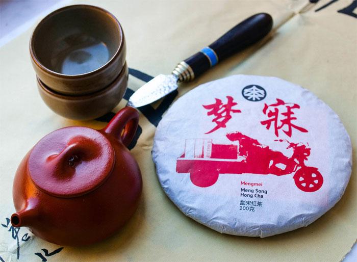 Полезный чай из Китая