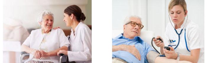 Патронажная служба для больных людей