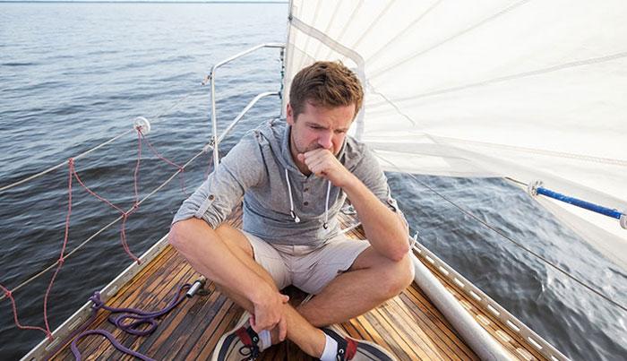 Укачивание: победа над морской болезнью
