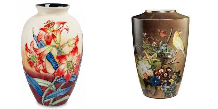 Популярные виды и формы ваз