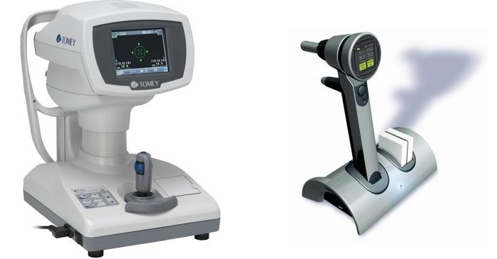 Бесконтактные офтальмологические тонометры