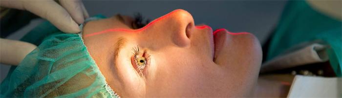 Применение лазерной хирургии в офтальмологии