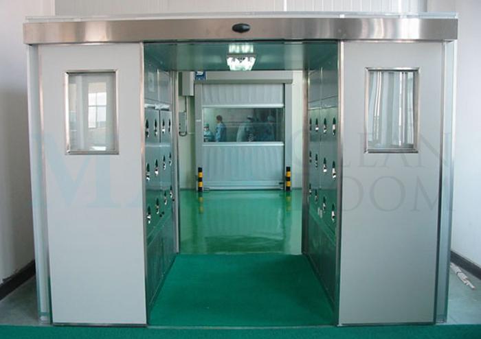 Тамбур-шлюз (воздушный душ): оснащение, суть и основные достоинства